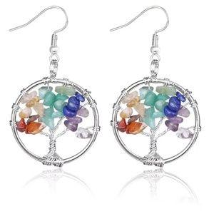 7 Chakras earrings